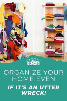 Do you feel like your house is an overwhelming big mess? You can get your stuff under control and organize your messy house! We have the simple to follow steps to organize you home. Keep things simple and easy to follow through. A well organized house encourages family members to keep things under control and clean. A safe and clean home is easy, Healthier Home can show you how. #OrganizedHome #CleanHome #GreenHome Organisation Hacks, Storage Hacks, Organizing Tips, Organizing Your Home, Home Organization, Green Cleaning, House Cleaning Tips, Getting Organized At Home, Eco Friendly Cleaning Products