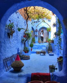 Most Beautiful Streets in the World That Are Straight Out of a Dream - Add to Bucketlist , Vacation Deals Vacation Deals, Vacation Trips, Vacations, Wanderlust Hotel, Us Destinations, Most Beautiful Images, Blue City, Beautiful Streets, Destination Voyage