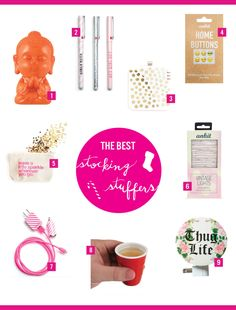 The Best Stocking Stuffer Gift Ideas | dormify.com