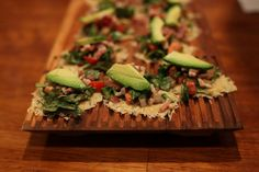 Spinach Salad on Cheese Crisps | Jenny Evans