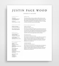 resume template resume professional resume by jpwdesignstudio more - Template Professional Resume