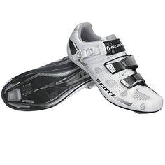 Scott Road Pro Rennrad Fahrrad Schuhe weiß/schwarz 2016: Größe: 48 - http://on-line-kaufen.de/scott/white-black-gloss-scott-road-pro-rennrad-fahrrad-3