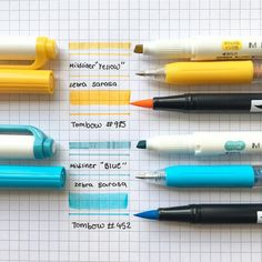 """414 Likes, 4 Comments - bujo(ノ◕ヮ◕)ノ*:・゚✧ (@studyihng) on Instagram: """"heyyyyy guys, i'm coming back at you FINALLY with a new swatch and not old ones, my mildliners and…"""""""