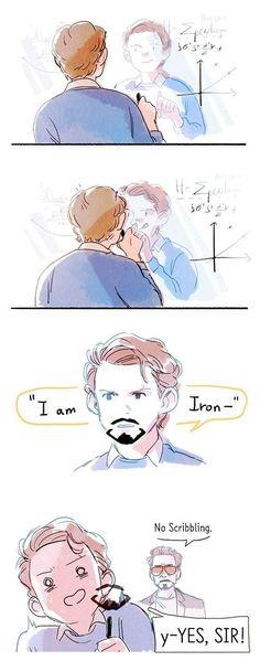 Spiderman, Iron Man
