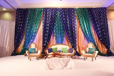 Love theses colors for a Mehndi Decor