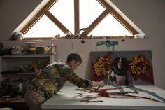 Kirsty  Whiten - Artist Whitening, Inspirational, Artist, Painting, Artists, Painting Art, Paintings, Painted Canvas, Drawings