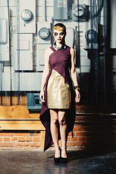 #Fashion #Designer #AndyJones #FAll2014 #DuLareeByAndyJones #Canadian #New #Designer #Fierce #Model