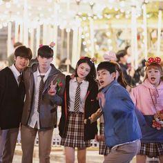 Cute Couple Art, Cute Couples, Drama Korea, Korean Drama, Korean Celebrities, Celebs, Teen Web, Teen Series, Korean Best Friends