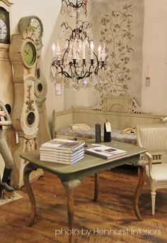 Painted Coffee Table :: Henhurst Interiors