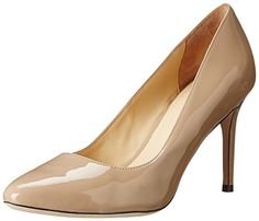 Cole Haan Women's Bethany Dress Pump 85,Maple Sugar Patent,7.5  B US Cole Haan