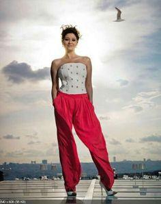Nurgül Yesilçay - Lufthansa Woman's World Magazine Pictorial [Germany] (January - FamousFix Turkish Women Beautiful, Turkish Beauty, Cosplay, Parachute Pants, Pictures, January, Germany, Tops, Magazine
