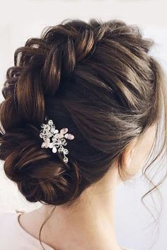 Bridal Hairstyles : braided wedding hair gorgeous | Weddings | Wedding Hairstyles | Bridal Hairstyles | Wedding Hair Up-dos | #weddings #weddinghair #weddinghairstyle #bride #bridalhair | #BraidedHairstyles #weddinghairstyles