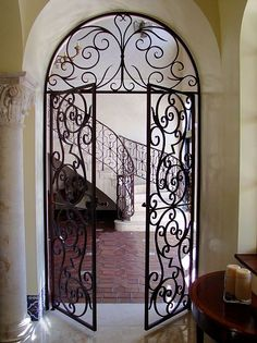 Lovely Interior Doors | 2017 Remodel | Pinterest | Beautiful, Iron Doors And  Interior Doors