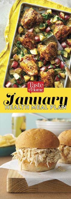 January Health Meal Plan