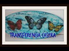Cómo hacer tranferencia casera con cola blanca - DiY - Tutorial - Handmade transference - YouTube Decoupage, Diy Tutorial, Crafts For Kids, Scrapbook, Handmade, Painting, Gisele, Image Transfers, Bottles