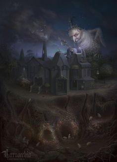 Ночная разорительница городка над самоцветным прииском