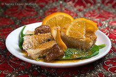 Maiale in salsa di mandarino, dolci e piccanti braciole di maiale facili da realizzare