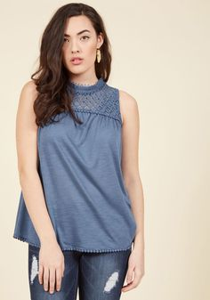 Rainfall Recordings Sleeveless Top