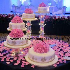 Royal Icing Cake with Spiral Style 163 Wedding Cake Stands, Wedding Cupcakes, Wedding Cake Toppers, Extravagant Wedding Cakes, Amazing Wedding Cakes, Royal Icing Cakes, Quince Cakes, Quinceanera Cakes, Simple Elegant Wedding