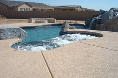 20 Awesome Raised Spa images | Phoenix, Pool builders, Pools