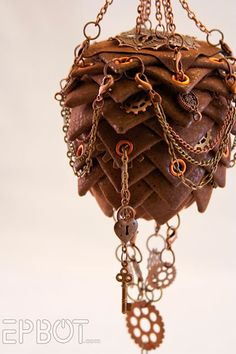 Beautiful Steampunk Ornament, made by Sharyn - a reader of Epbot