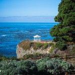 View of Gazebo from the Heritage House Resort in Mendocino , Ca. Wouldn't that be an incredible place for an intimate wedding.