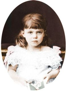 Grand Duchess Olga Alexandrovna - Sister of Nicholas II, the last Russian Imperial Tsar, who died, along with his family, executed by Bolshevik communists, July 18, 1918.