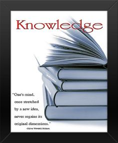 16x20 FRAMED Knowledge - Oliver Wendell Holmes Quote Innerwallz,http://www.amazon.com/dp/B00AKJ0THK/ref=cm_sw_r_pi_dp_5S1Rsb052CVHWKER