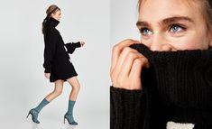 Sandália com meia, Inverno Zara Zara, Ecommerce, Stockings, Winter, Trends, Style, Women, E Commerce