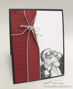 Confessions of a Stamping Addict Santa's List Lorri Heiling