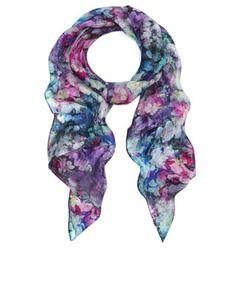 Photographic Digital Floral Silk Classic | Multi | Accessorize