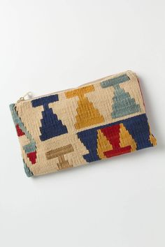 #Anthropologie #Kilim Rug Pouch