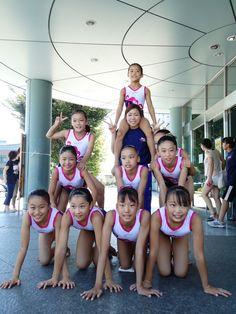 Japanese gymnastics club class