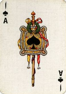 Iranian Playing Card - Ace of Spades Playing Cards Art, Ace Of Spades, Deck Of Cards, Tarot, Whimsical, Clock, Wallpaper, Illustration, Artwork