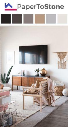 Living room color palette - dark-azure dark-cobalt-blue dark-grayish-scarlet dark-tangelo gamboge light-arctic-blue