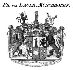 Muenchhofen Coat of Arms. My mother's family crest.