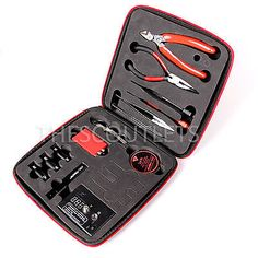 Diy kit coil master oub616oubell vape coil master pinterest updated vape diy coil master tool kit for jig rebuildable atomizer solutioingenieria Images