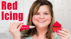 How to Make Red Icing / Red Buttercream Recipe for Cake Decorating: Tutorial from Jenn Johns - YouTube