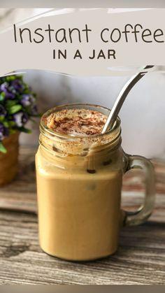 Coffee Drink Recipes, Starbucks Recipes, Fun Baking Recipes, Cooking Recipes, Indian Dessert Recipes, Instant Recipes, Instant Coffee, Milkshakes, Curry Recipes