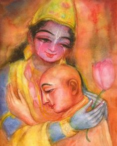 Little Krishna, Radha Krishna Photo, Krishna Photos, Krishna Art, Hare Krishna, Krishna Drawing, Krishna Painting, Beautiful Flowers Pictures, Flower Pictures