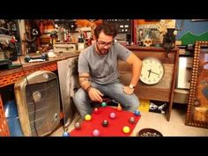 Como fazer uma mesa de centro reutilizando coisas!! - YouTube