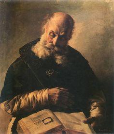 "Anna Bilinska-Bohdanowiczowa ""Old Man with a Book"", oil on canvas, 81 x 69 cm, Lviv Art Gallery, Lviv, Ukraine"