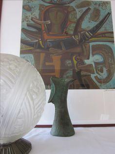 Pintura - Querubim Lapa Escultura - José Aurélio Candeeiro - Doria