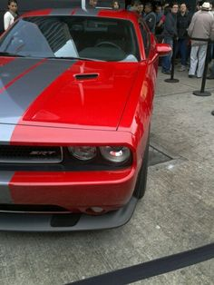 Dodge challenger. I just love these cars!