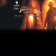 Indiana Jones Exhibit at Discoverycube
