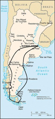 Recommended Travel Itineraries for Argentina   Brendan's Adventures