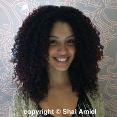 by Shai Amiel, Curl Doctor / Hair Artist www.ShaiAmiel.com   www.Twitter.com/ShaiAmiel  Deva Curl DevaCut #DevaCurl #DevaCut