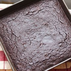 REAL FOOD BROWNIES I know, chickpeas in brownies? But Sara hasn't steered me wrong yet.