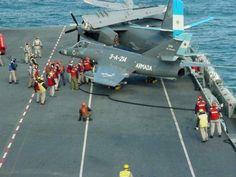 Argentine Tracker on the 25 de Mayo Military Jets, Military Aircraft, Marcel Dassault, Dassault Aviation, Naval Aviator, Falklands War, Aircraft Photos, Civil Aviation, Aircraft Design