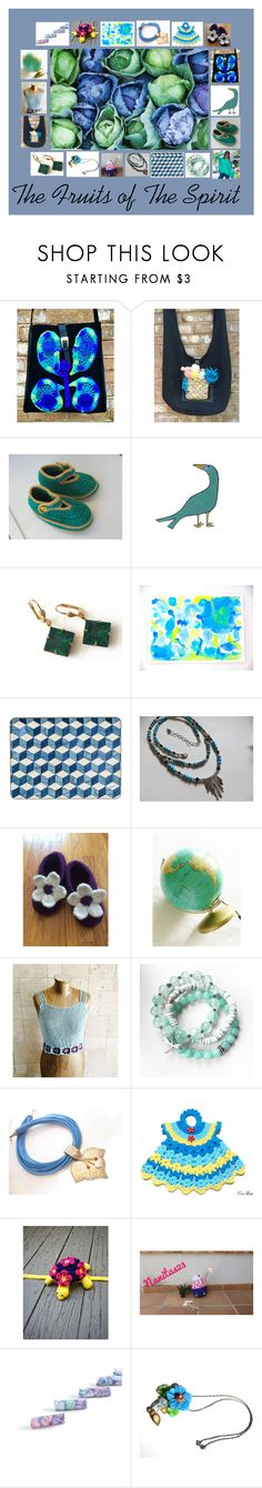 """The Fruits of The Spirit: Unique Gift Ideas"" by paulinemcewen on Polyvore featuring vintage and country"